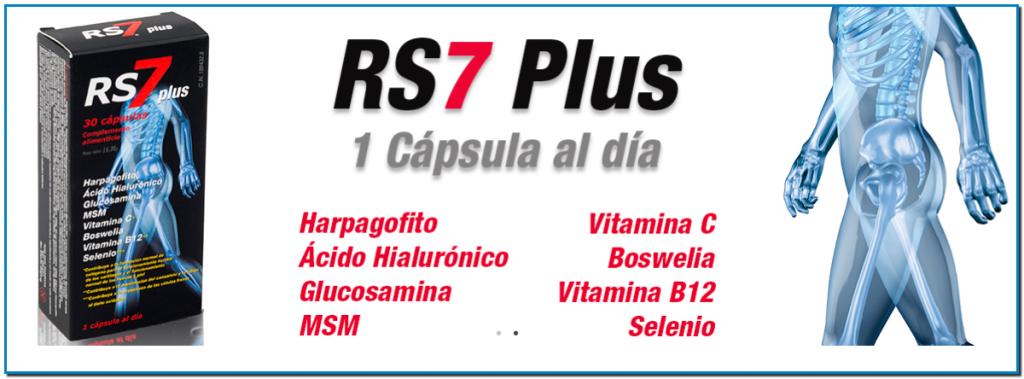 RS7 Plus articulaciones es un complemento alimenticio muy completo, útil para tratar lesiones relacionadas con los huesos, tendones, ligamentos, cartílagos CAMINAR Es sumamente beneficioso para luchar contra la artrosis, especialmente para la salud de nuestras rodillas. Es importante que diariamente hagamos un paseo para también controlar o perder peso.