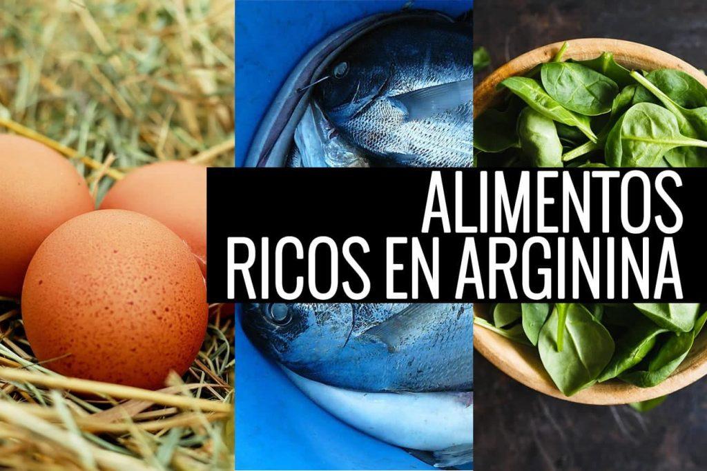 Qué es y para qué sirve la L-arginina Se trata de un aminoácido condicionalmente esencial que produce el propio organismo y que forma parte de nuestras proteínas. La L-arginina, además, se encuentra de forma natural en determinados alimentos, tanto en pescados, mariscos y moluscos (atún, langosta, cangrejo, sardinas, calamares, entre otros), como en frutos secos (almendras, pistachos, nueces, avellanas, anacardos)